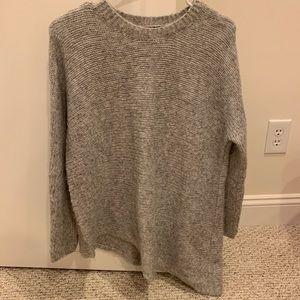 Eileen Fisher gray sweater